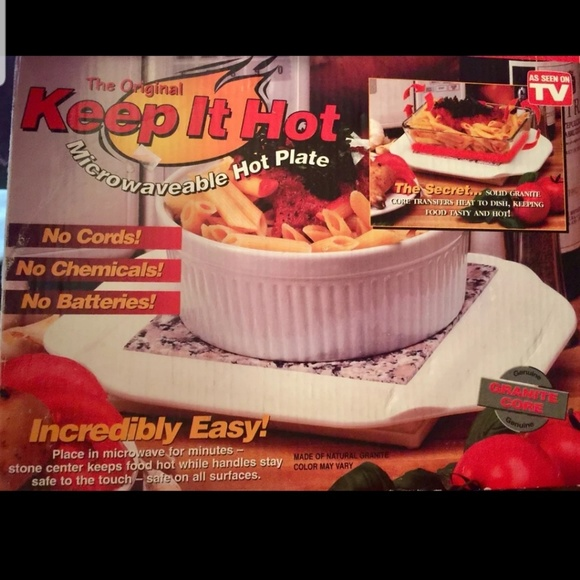 """as seen on TV Other - """"Keep It Hot """"as Seen On TV Hot Plate"""